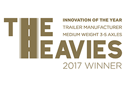 The Heavies – Innovation Of The Year – Trailer Manufacturer – Medium Weight 3-5 Axles 2017 logo