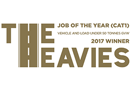 The Heavies – Job Of The Year (Cat 1) 2017 logo