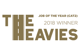 The Heavies – Job Of The Year (Cat 2) 2018 logo