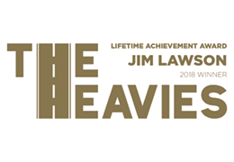 The Heavies – Lifetime Achievement Award – Jim Lawson – 2018 logo