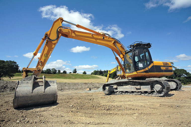 Lawsons JCB 360 Track Machine