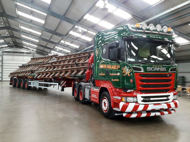 Specialist Haulage Solutions from Lawsons Haulage of Cockermouth
